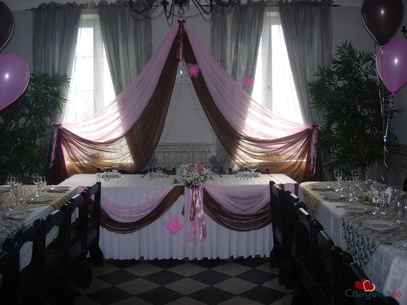 Оформление свадебных и банкетных