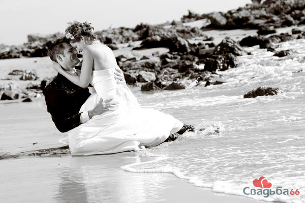 Trash the dress фото