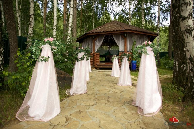 загородные дома для свадьбы