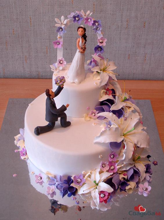 Свадебные торты 10