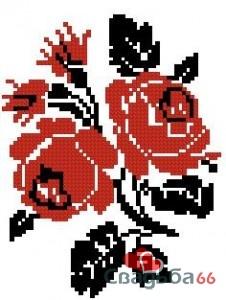 герб фк барселона для вышивания бисером