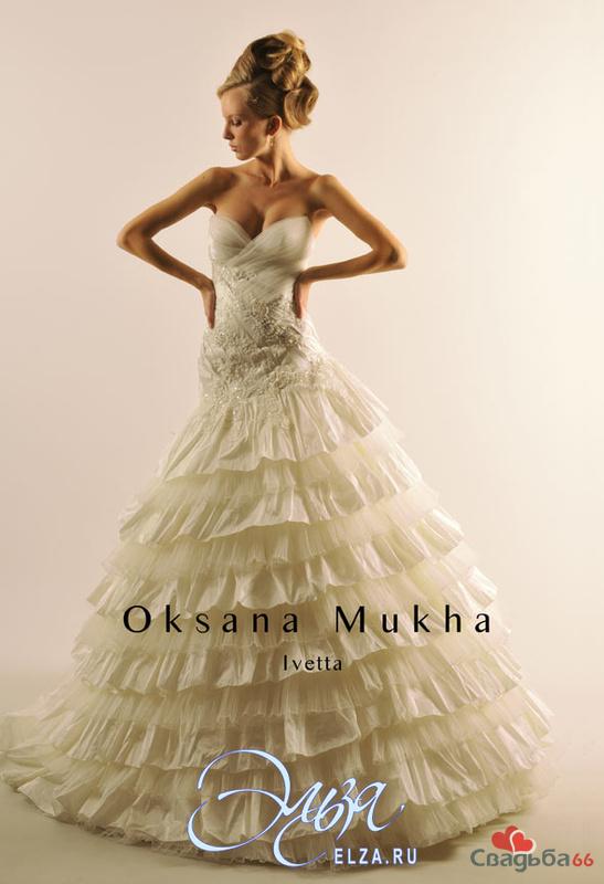 Свадебные платья оксана мухина 3