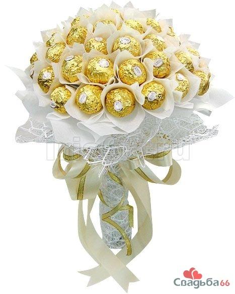 Пошаговая фото инструкция букет изБукет из конфет своими руками (20467