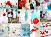 Оформление свадьбы: цветовые схемы.